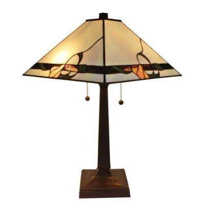 23 in. Tiffany Style Mission Table Lamp
