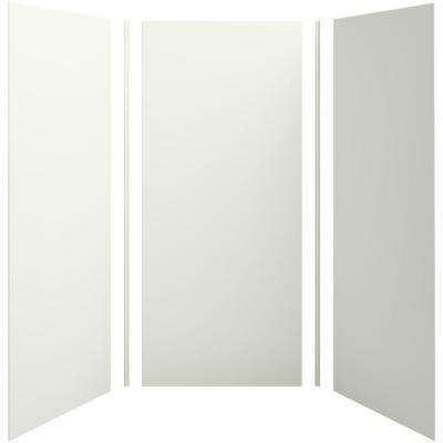 Choreograph 42in. X 42 in. x 96 in. 5-Piece Shower Wall Surround in Dune for 96 in. Showers