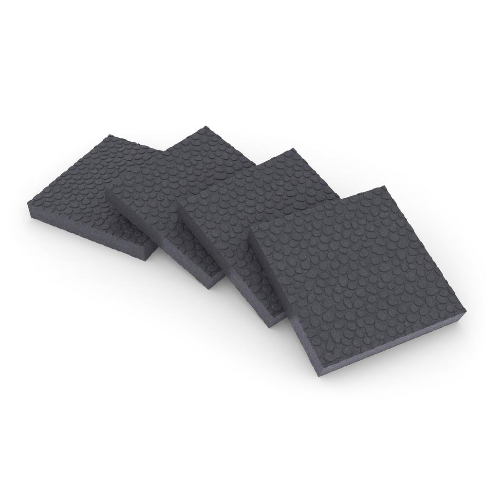 3.75 in. x 3.75 in. x 1/2 in. Anti-Vibration Pad (16-Pack)