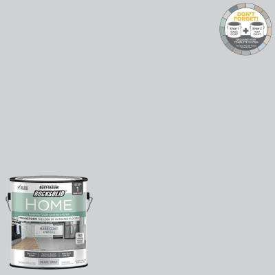 Home 1 gal. Pearl Gray Interior Floor Base Coating