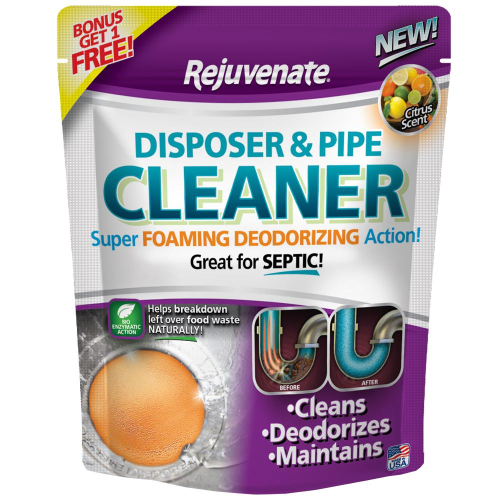 Rejuvenate Citrus Scent Disposer and Pipe Cleaner (6-Pack)-RJ6DPC ...