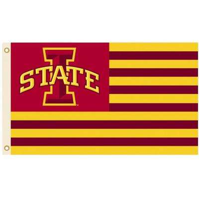 iowa state university 3 x 5 flags outdoor decor the home depot