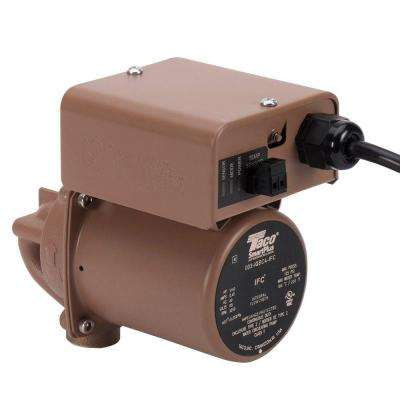 SmartPlus 006 1/40 HP Non-Submersible Hot Water Recirculation Pump in Bronze with 3/4 in. Sweat Connection