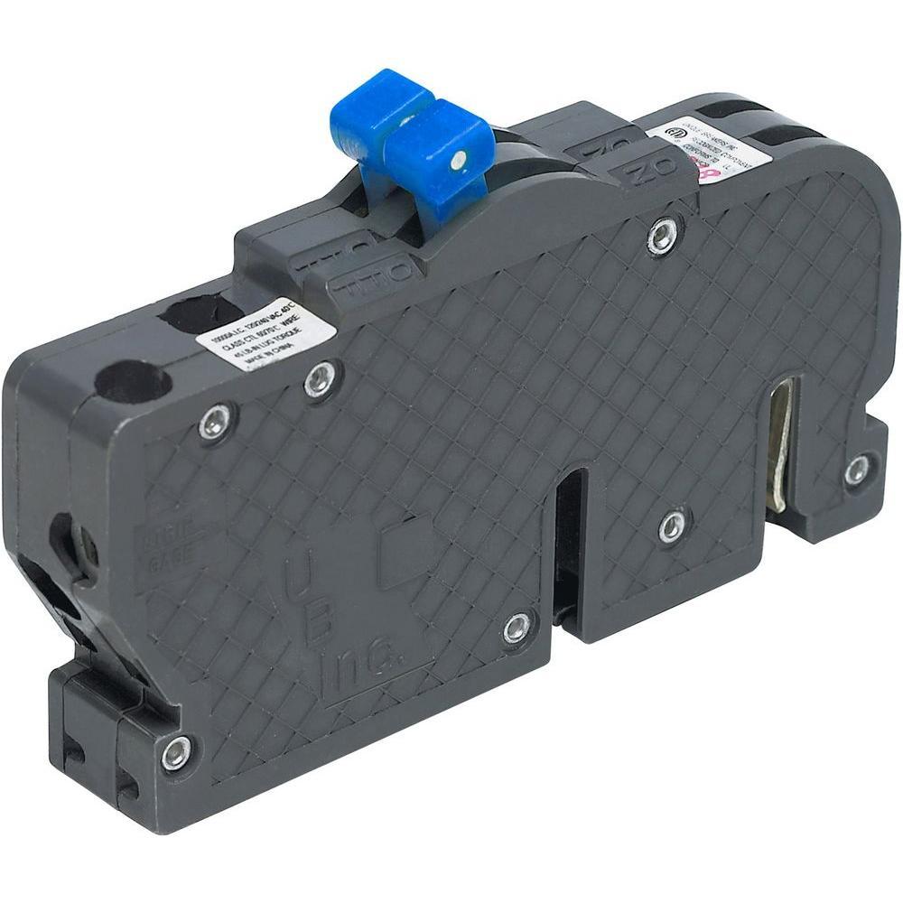 New UBIZ Thin 15 Amp 3/4 in. 2-Pole Zinsco Type RC Replacement Circuit Breaker