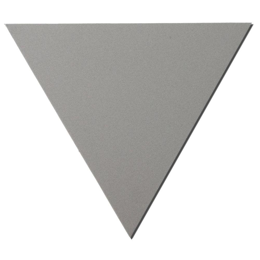 Owens Corning 24 in. x 24 in. x 24 in. Grey Triangle Acoustic Sound Absorbing Wall Panels (2-Pack)