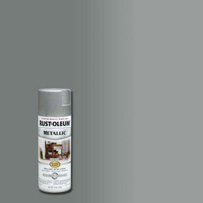 11 oz. Metallic Matte Nickel Protective Spray Paint