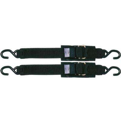 Sta-Put 5 ft. Transom Tie Down With Quick Release Buckle (2-Pack)