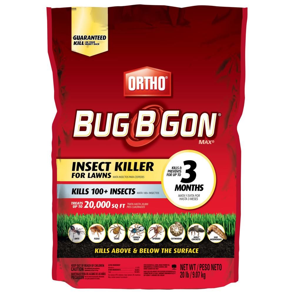 Ortho Bug B Gon 20 Lbs Max Insect Killer Granules 020062405 The Home Depot
