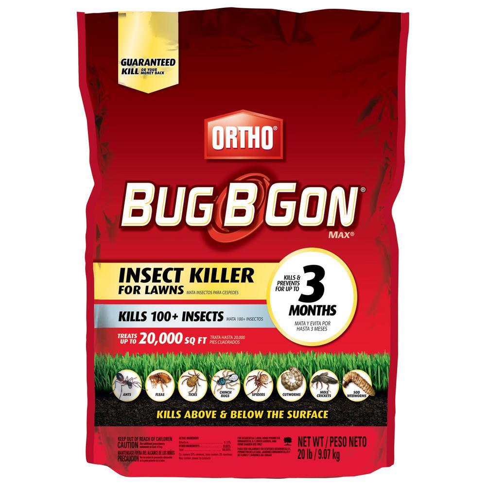 Bug B Gon 20 lbs. Max Insect Killer Granules