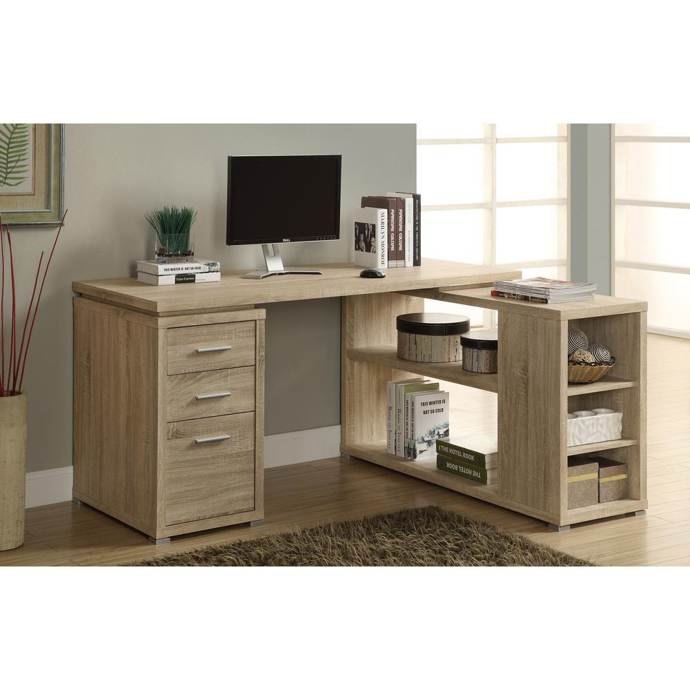 Monarch 2 In 1 Piece Natural Office Suite
