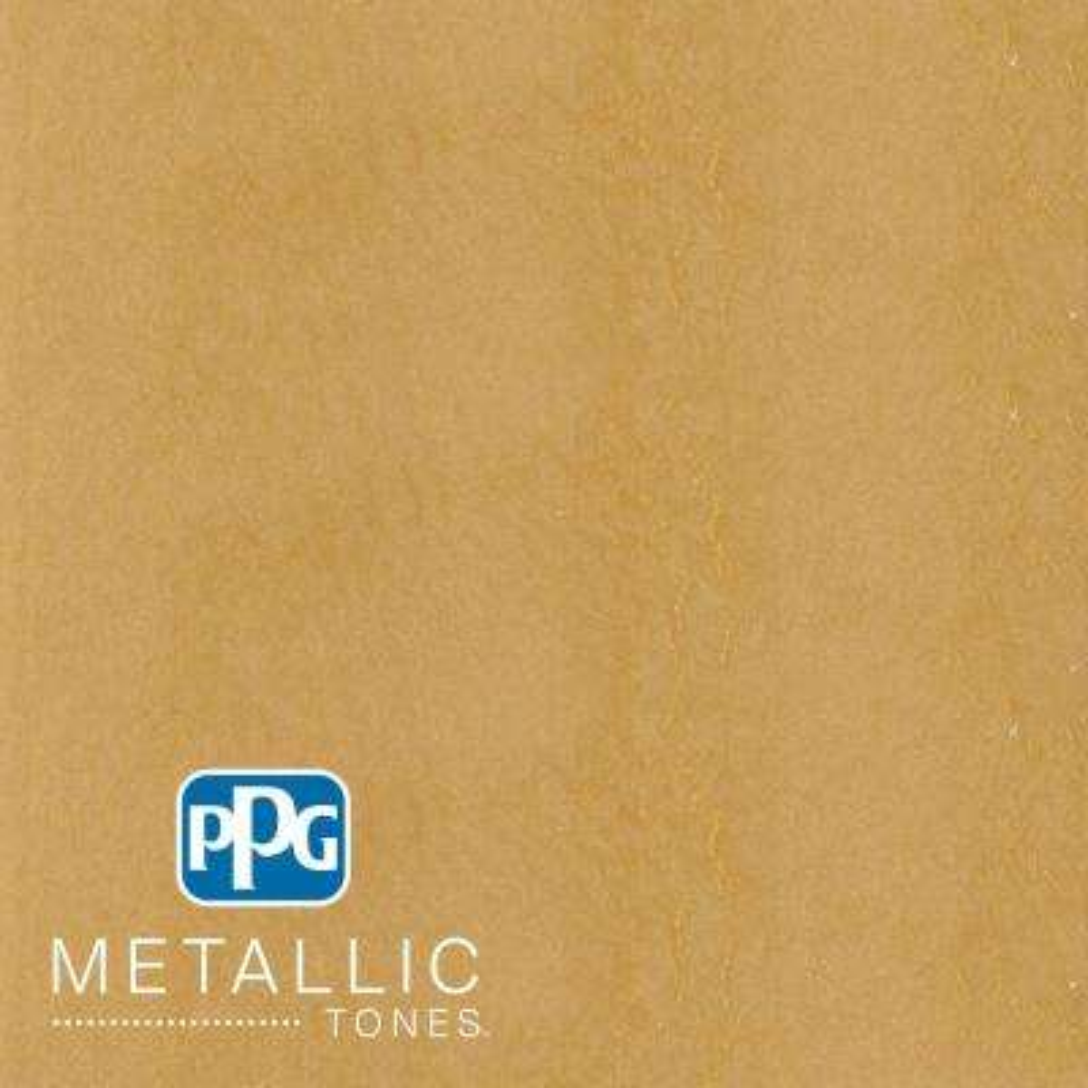 1 qt.#MTL138 Golden Saffron Metallic Interior Specialty Finish Paint