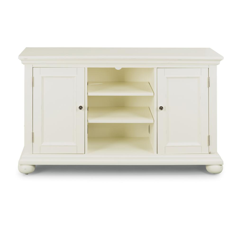 Home Styles Dover White Tv Stand