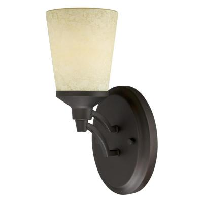 Malvern 1-Light Oil Rubbed Bronze Wall Mount Sconce