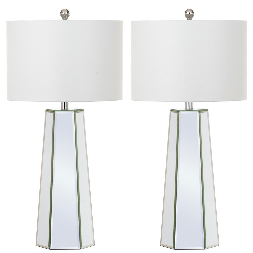 Janice 31.5 in. Clear Table Lamp (Set of 2)