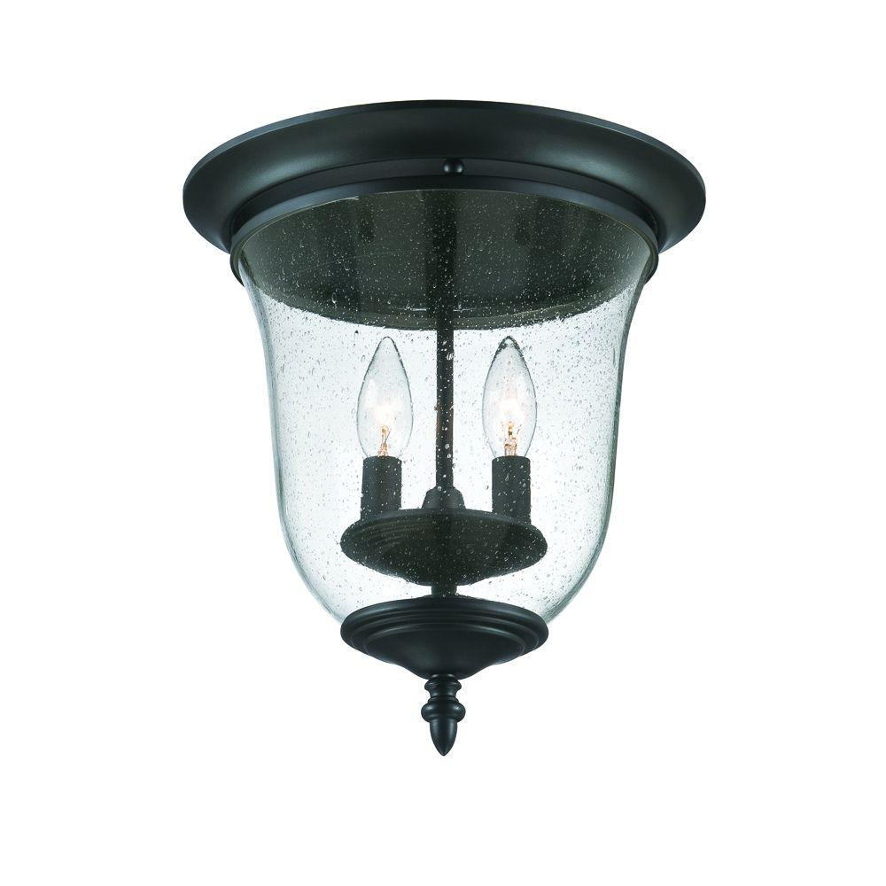 Light Fixture Collections: Acclaim Lighting Belle Collection Ceiling-Mount 2-Light