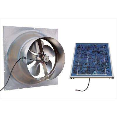 Gable 10 Watt Solar-Powered Attic Fan