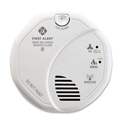 Battery Operated Combination Smoke and CO Detector Z-Wave Wireless