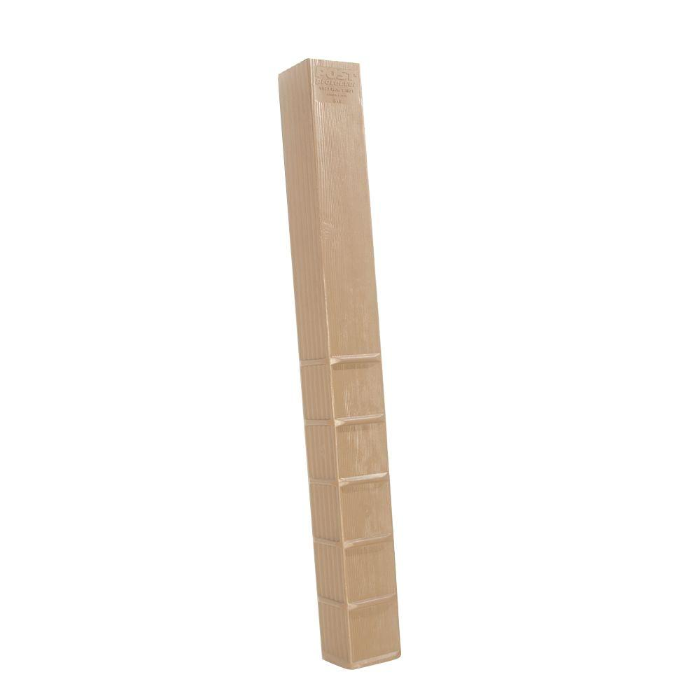 Post Protector 6 in. x 6 in. x 60 in. In-Ground Post Decay Protection