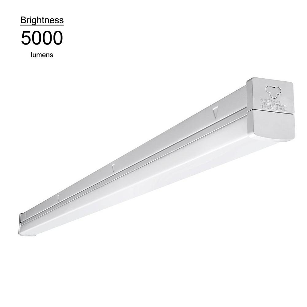 Eti 4 ft linkable high output 54w equivalent daylight white linkable high output 54w equivalent daylight white integrated led multi volt strip aloadofball Image collections