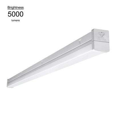 4 ft. Linkable High Output 54W Equivalent Daylight White Integrated LED Multi Volt Strip Ceiling Light
