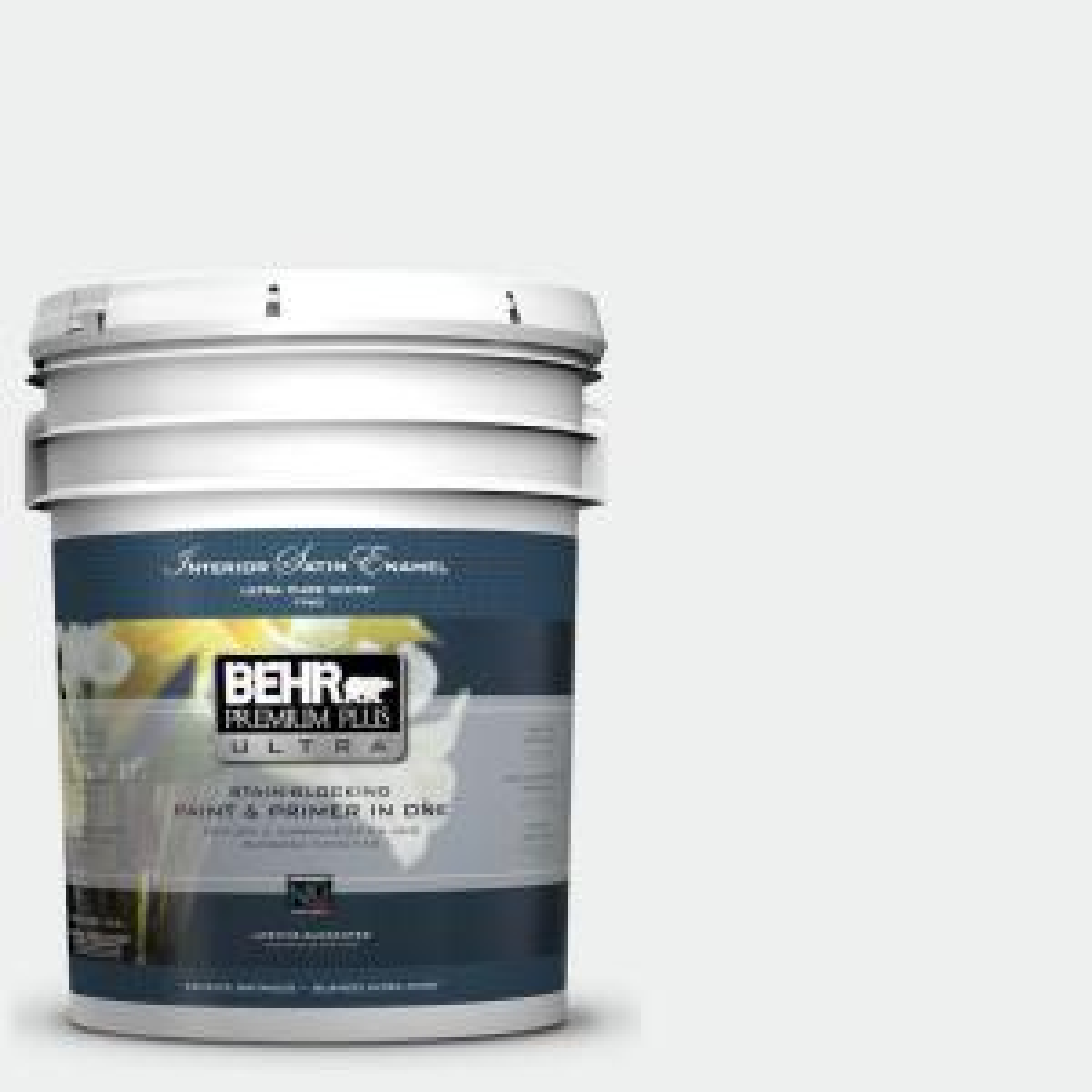 5 gal. #57 Frost Satin Enamel Interior Paint