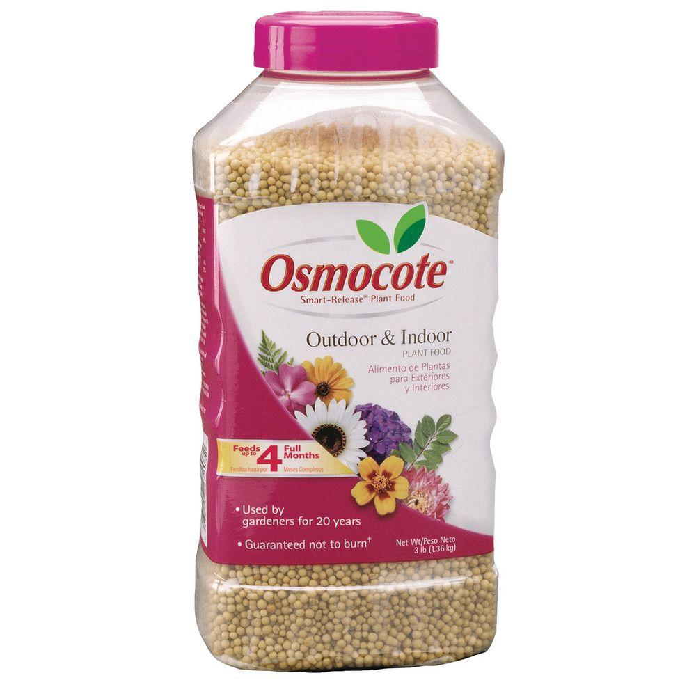 Osmocote Smart Release 3 lb. Outdoor and Indoor Plant Food