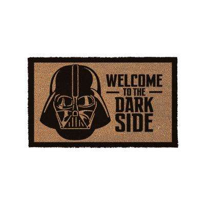 Star Wars Welcome To The Dark Side 29 in. x 17 in. Door Mat