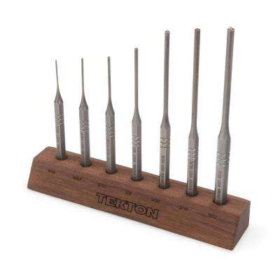 1/16-7/32 in. Roll Pin Punch Set (7-Piece)