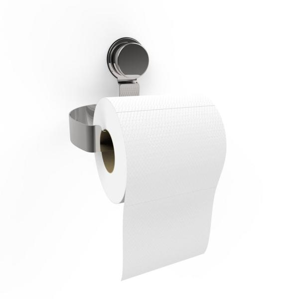 Lavish Home Wall Mounted Toilet Paper Roll Holder In Stainless Steel M240011 The Home Depot