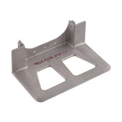 14 in. x 7-1/2 in. Die Cast Aluminum Nose with Recessed Heel