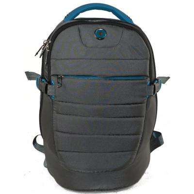 Varsity Collection Widget 18 in. Grey Backpack