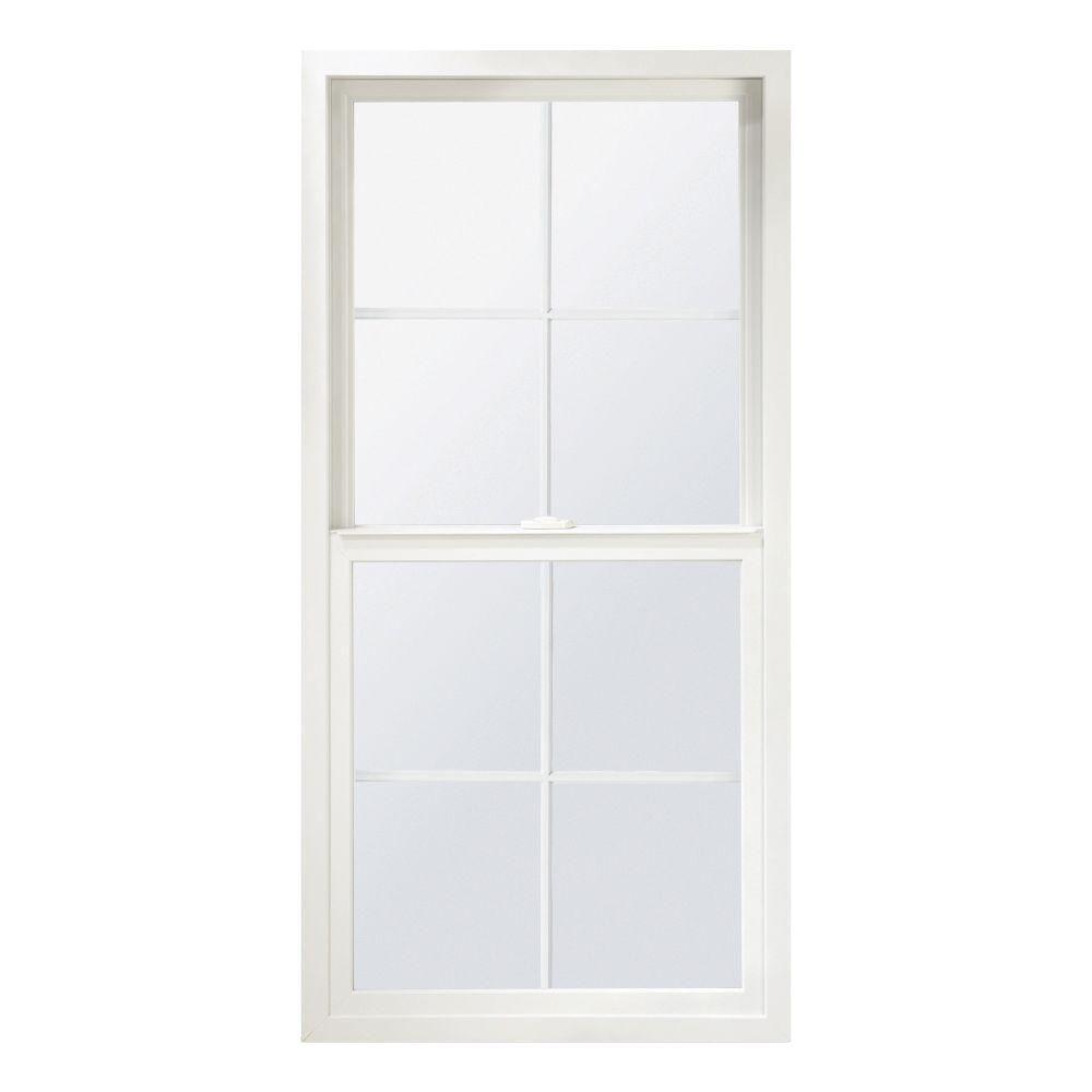 Ply gem 31 5 in x 71 5 in single hung vinyl window for Ply gem vinyl windows reviews