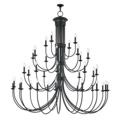 Estate 38-Light Bronze Grand Foyer Chandelier