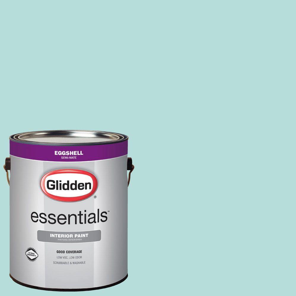 glidden essentials 1 gal hdgb23u freshwater eggshell interior paint - Glidden Paint Color