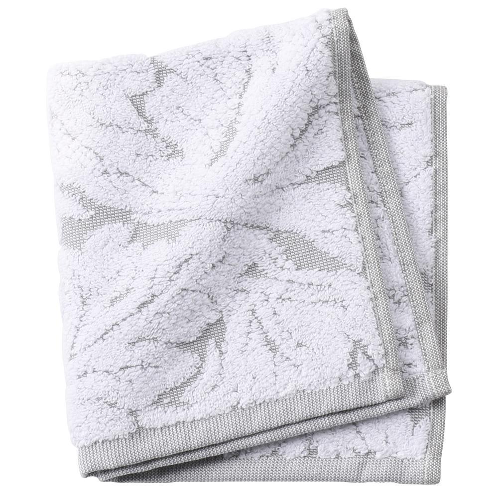 Faro 1-Piece Face Towel in Grey