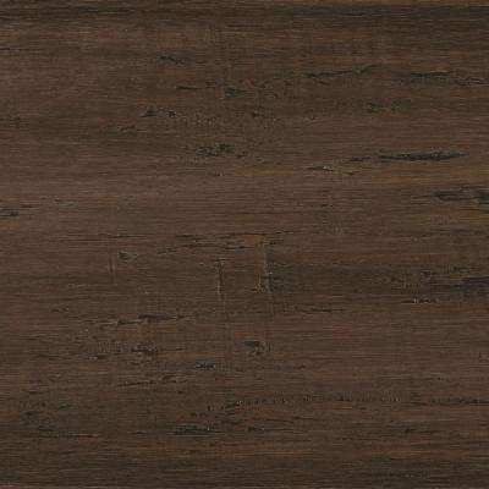 Take Home Sample - Hand Scraped Strand Woven Mushroom Click Bamboo Flooring - 5 in. x 7 in.