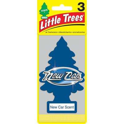 Air Freshener New Car Scent (3-Pack)