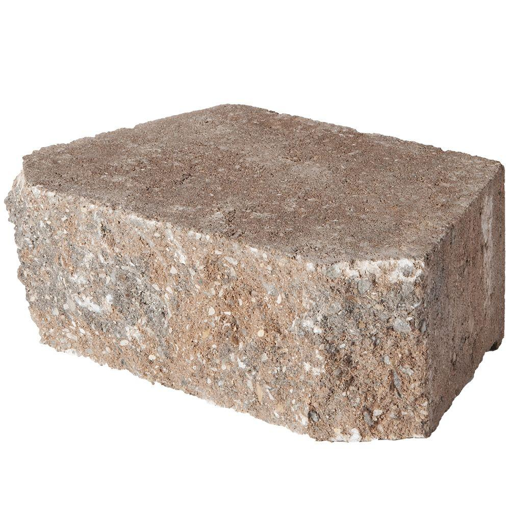 4 in. x 11.75 in. x 6.75 in. Rock Blend Concrete
