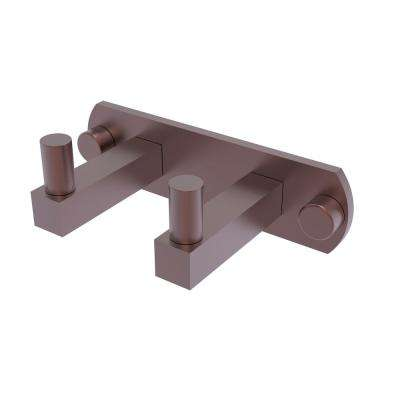 Montero Collection 2-Position Multi Hook in Antique Copper