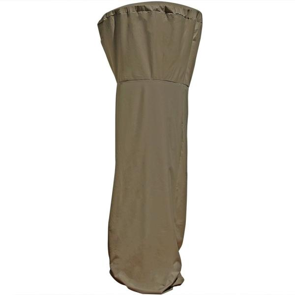 94 in. Khaki Waterproof Fabric Outdoor Patio Heater Cover