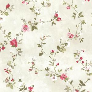 Brewster Sarafina Pink Floral Wallpaper 2686 21640 The