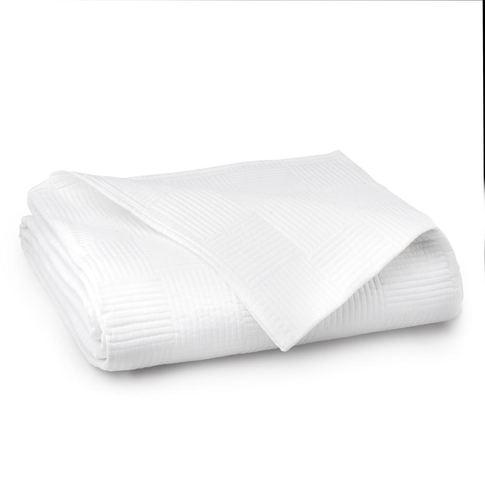 WELHOME The Preston Cotton White King Quilt was $150.99 now $83.04 (45.0% off)