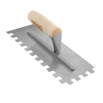 1/2 in. x 1/2 in. SQ-Notch Trowel