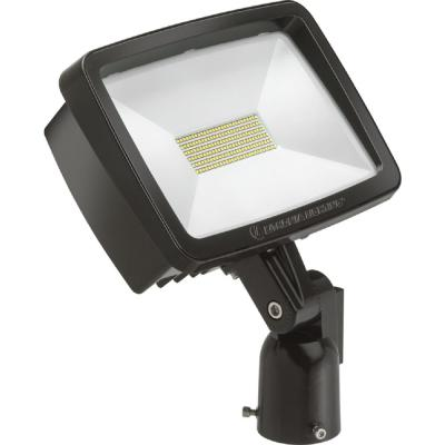 Contractor Select TFX2 94-Watt Dark Bronze Slip Fitter Mount 5000K Outdoor Integrated LED Flood Light