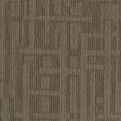 Planner Brown 24 in. x 24 in. Modular Carpet Tile Kit (18 Tiles/Case)