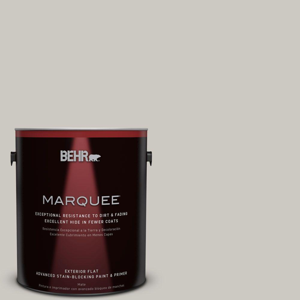 BEHR MARQUEE Home Decorators Collection 1-gal. #HDC-WR14-2 Winter Haze Flat Exterior Paint