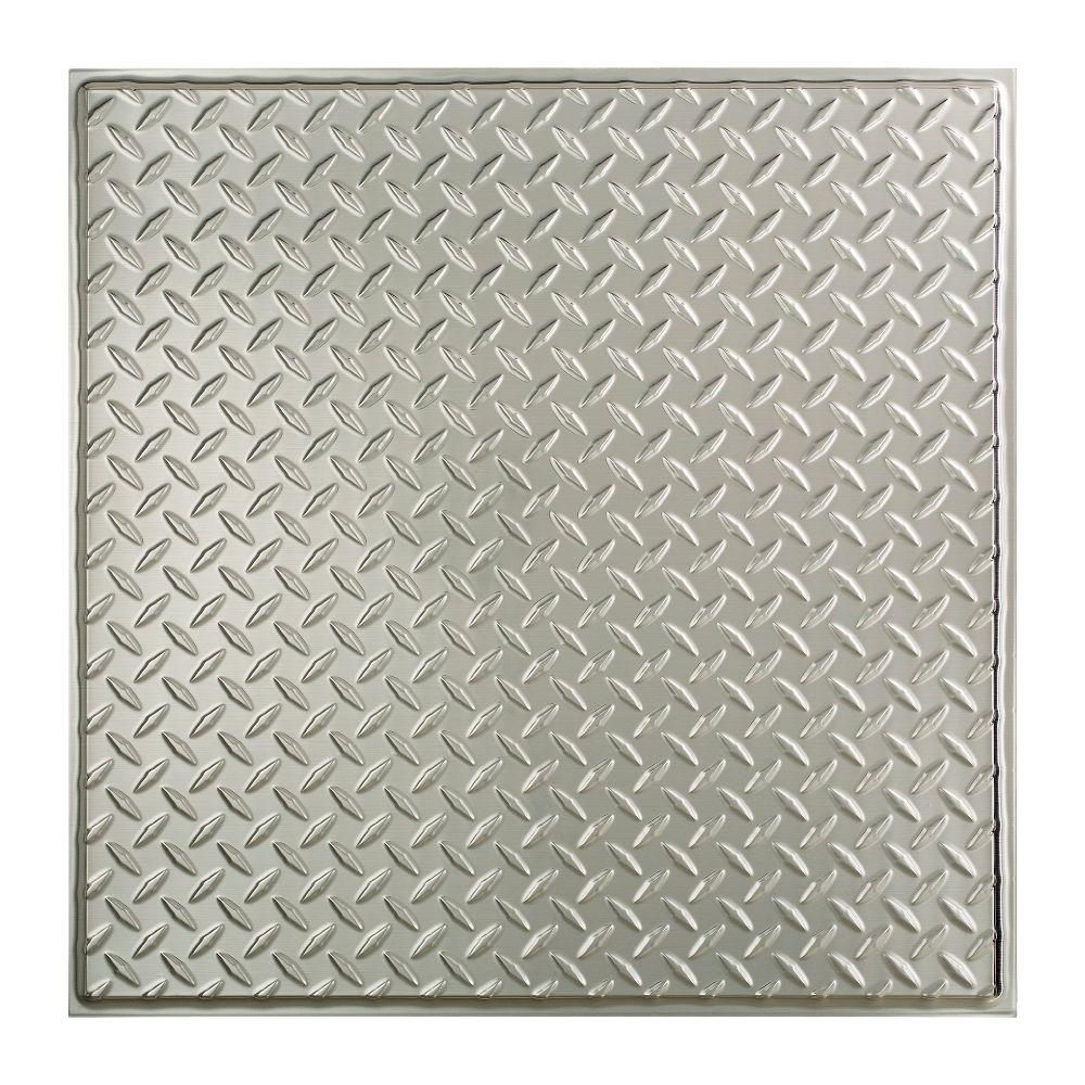 Awesome 12 Inch Floor Tiles Thin 12X12 Ceramic Tiles Flat 12X24 Ceiling Tile 2 By 4 Ceiling Tiles Young 2X2 Ceramic Tile Pink2X4 Tile Backsplash Fasade Diamond Plate   2 Ft. X 2 Ft. Revealed Edge Lay In Ceiling ..