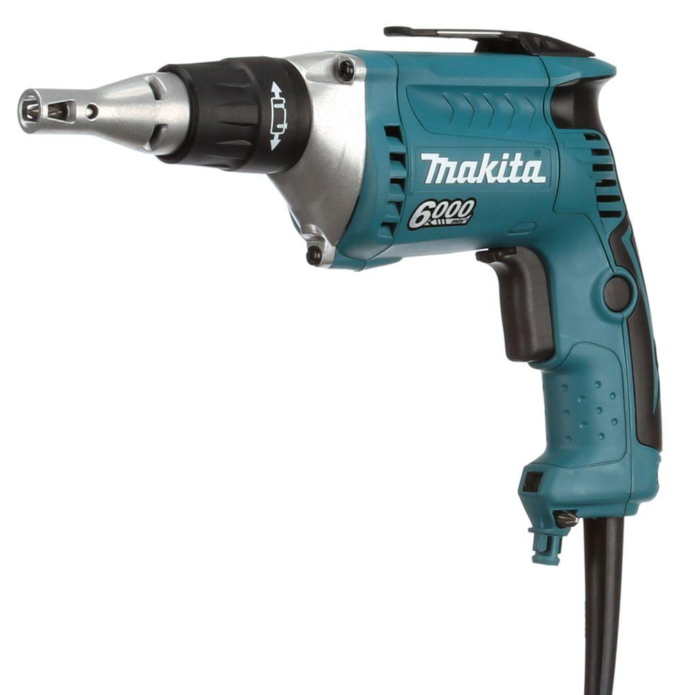 6-Amp 6000 RPM 1/4 in. Drywall Screwdriver