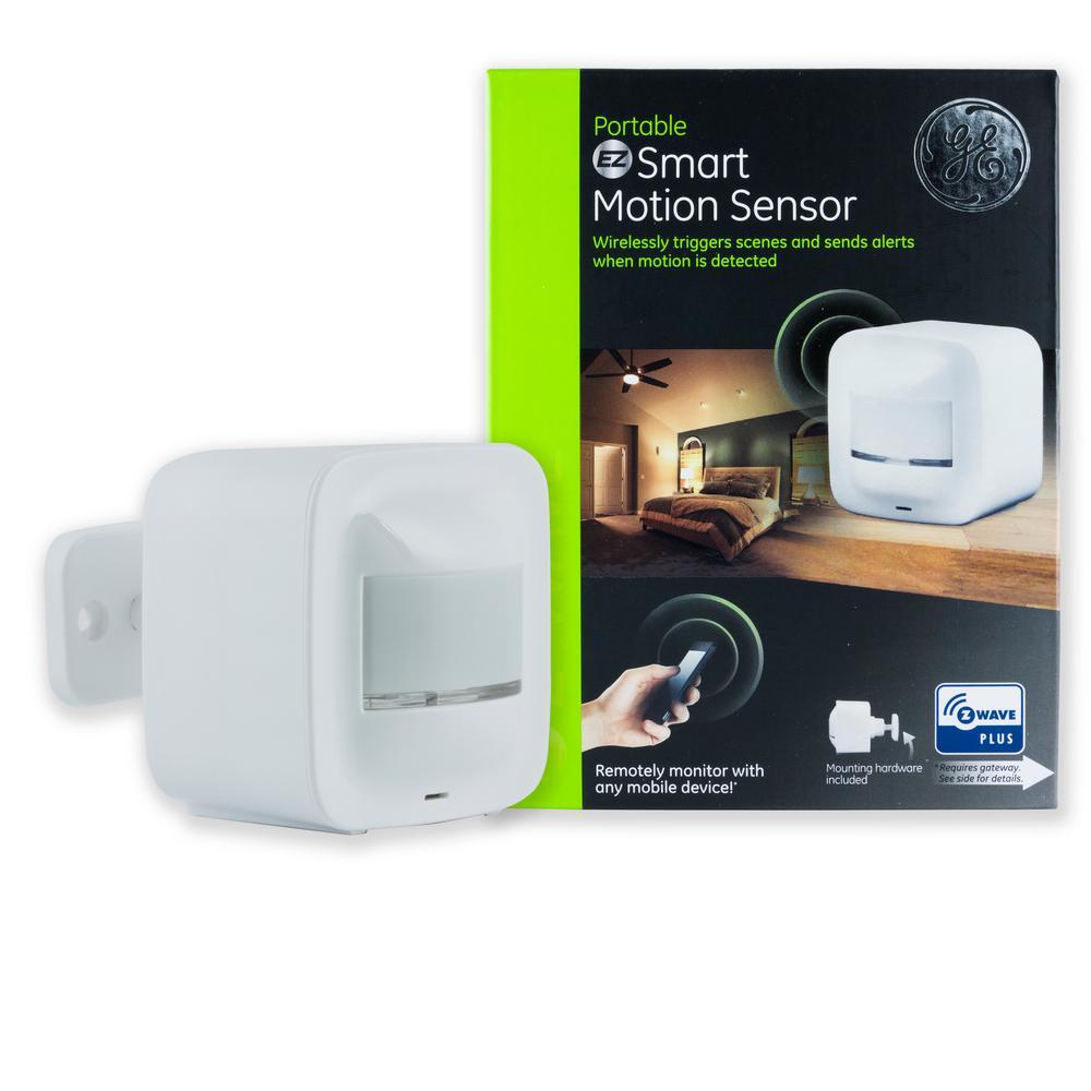 GE Z-Wave Plus Portable Smart Motion Sensor