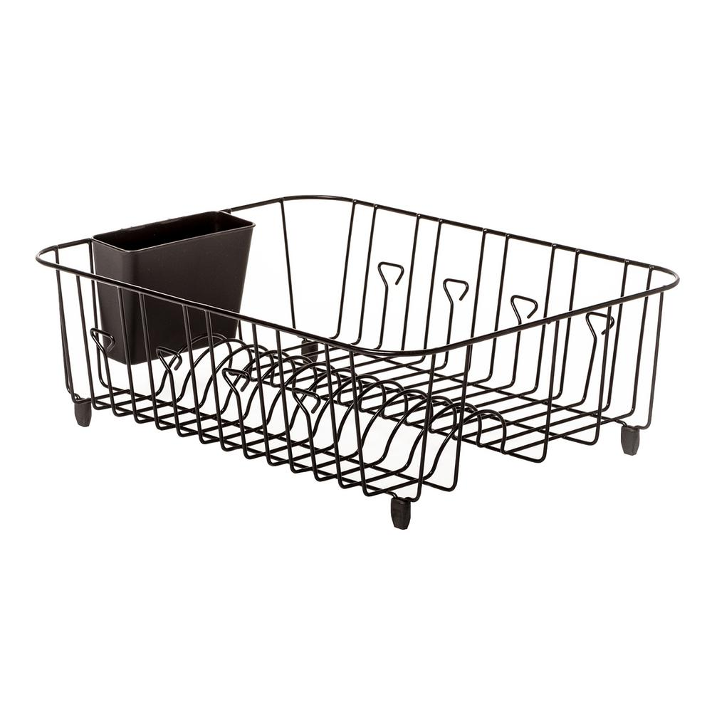 2b14f199b877 Real Solutions for Real Life Dish Rack in Black-RS-DISHDNR-BLK - The ...